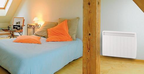 Radiateur électrique Aterno pour chambre.