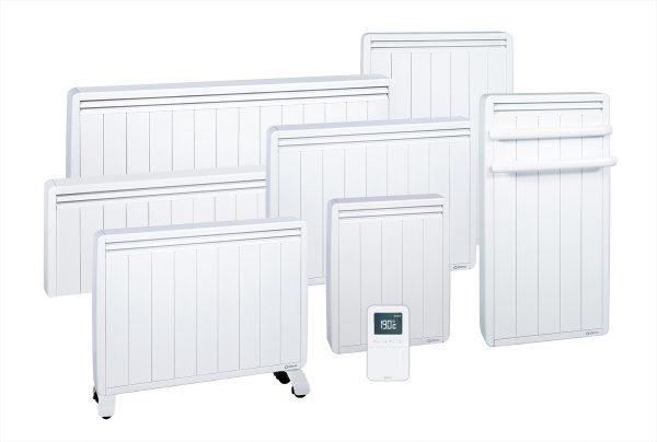 Gamme complète de radiateurs électriques à inertie Aterno