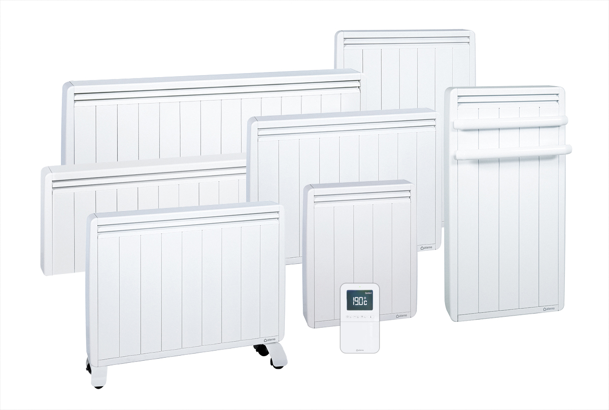 Gamme complète de radiateurs Aterno.
