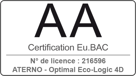 certification eubac - aterno classe aa